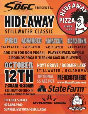 Hideaway Pizza presents STILLWATER CLASSIC graphic