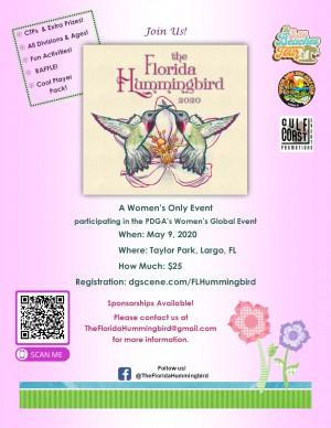 2020 Florida Hummingbird (WGE) graphic