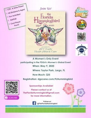 POSTPONED - 2020 Florida Hummingbird (WGE) Presented by ACC Early Heart Attack Care graphic