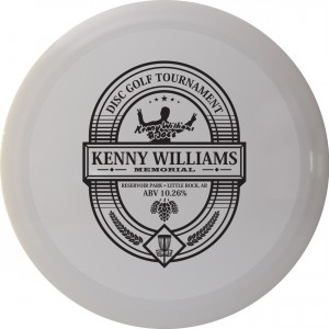 Kenny Williams Memorial Disc Golf Tournament graphic