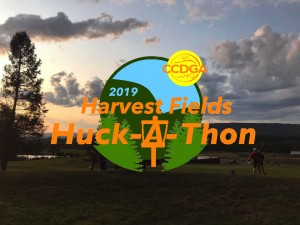 2019 Harvest Fields Huck-A-Thon graphic
