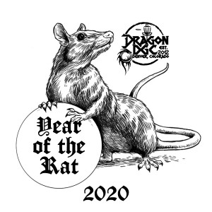 Dragon DGC 1st Tags 2020 - Year of the Rat graphic