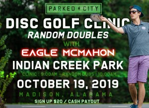 Clinic and Random Dubs with Eagle McMahon graphic