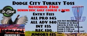 Dodge City Turkey Toss graphic
