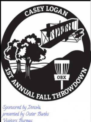Casey Logan Fall Throw Down - Sponsored by Innova, presented  by Outer Banks Visitors Bureau graphic