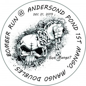 Bomber Run @ Anderson Pond Mango Doubles - Presented by Innova Champion Discs graphic