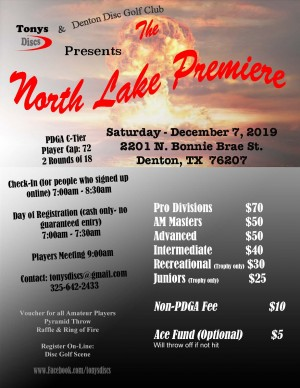 North Lake Premiere graphic