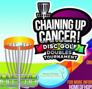 Chaining Up Cancer- Doubles Tournament to Support Home of Hope Cancer Wellness Center graphic