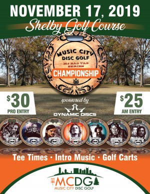 2019 MCDG Bag Tag Series Championship graphic