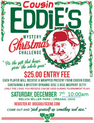 2019 Cousin Eddie's Mystery Christmas Challenge graphic
