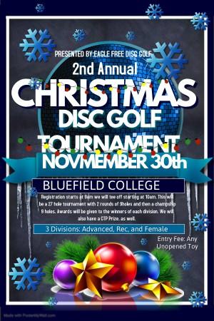 Christmas Disc Golf Tournament graphic