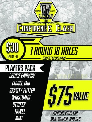 2019 Legacy Confidence Clash at Ash Creek DGC graphic