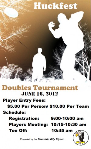 Huckfest - Doubles Tournament graphic