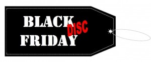 Black Disc Friday graphic