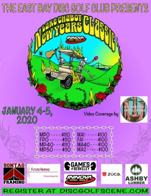Lake Chabot New Years Classic driven by Innova Discs graphic