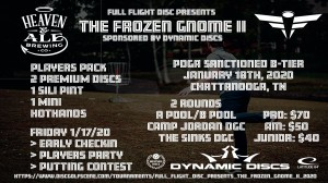 Full Flight Disc presents The Frozen Gnome II graphic