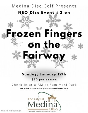 NEODGA 2020 Frozen Fingers on the Fairway - Stop #2 - Medina graphic
