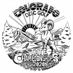 Colorado State Disc Golf Championships Sponsored by Discmania graphic