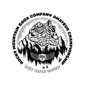 Rocky Mountain Soda Company Presents:  The Rocky Mountain Amateur Championships(MA1/FA1/MA40) Sponsored by Discmania graphic