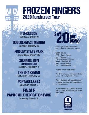 NEODGA 2020 Frozen Fingers on the Fairway - Stop #5 The Grassman graphic