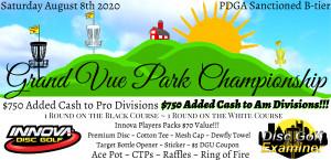 Grand Vue Park Championship Driven by Innova graphic