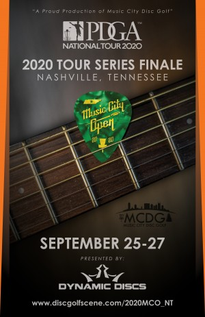 **CANCELED** - Music City Open Presented by Dynamic Discs - National Tour graphic