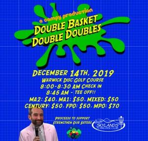 Double Basket Double Doubles graphic