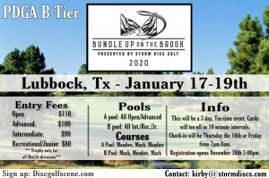 Storm Disc Presents Bundle up on the Brook graphic