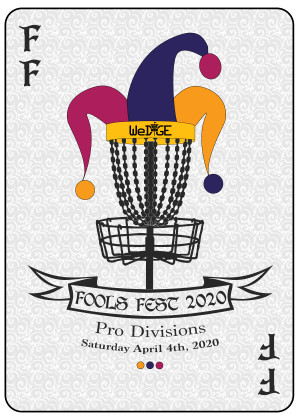 2020 FDR Fools Fest Professional Divisions - Driven by INNOVA graphic