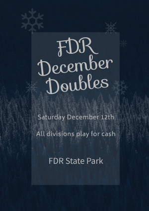 FDR December Doubles graphic
