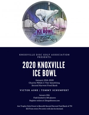 The 2020 Knoxville Ice Bowl graphic