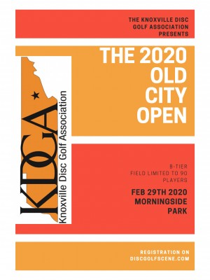 The 2020 Old City Open Sponsored By: Dynamic Discs graphic