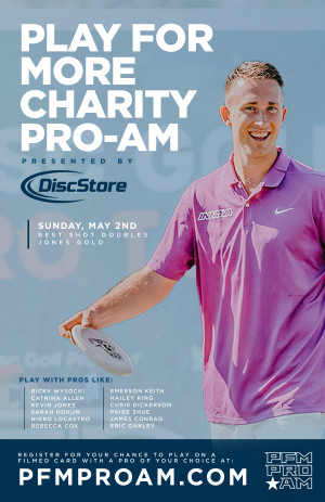 DDO Play For More Charity Pro-Am presented by Disc Store graphic