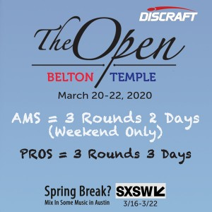 The Open at Belton presented by Discraft graphic