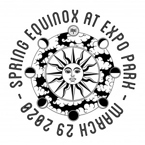 Spring Equinox at Expo Park graphic