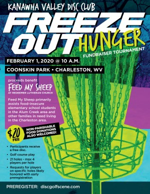 Kanawha Valley Freeze Out Hunger 2020 graphic