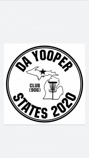 Da Yooper state DGC 5th Edition Presented by Club (906) graphic