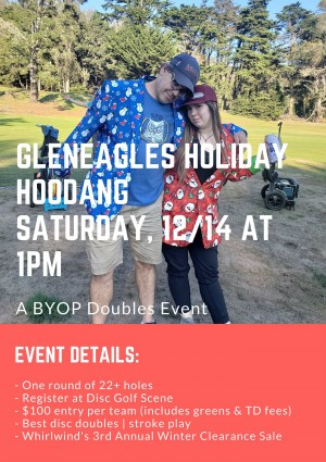 2nd Annual Gleneagles Holiday Hoodang graphic