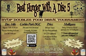 Beat Hunger With a Disc 5 graphic