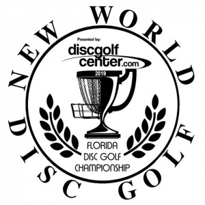 2019 Florida Disc Golf Championship presented by New World and DiscGolfCenter.com graphic