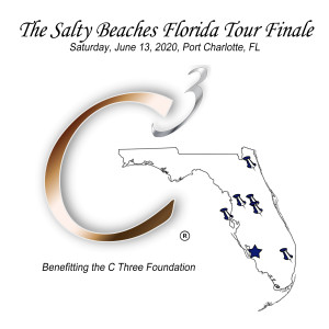 The Salty Beaches Florida Tour Finale benefiting C Three Foundation graphic