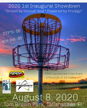 """2020 1st Inaugural Showdown """"Driven by Innova""""& """"Powered by Prodigy"""" graphic"""