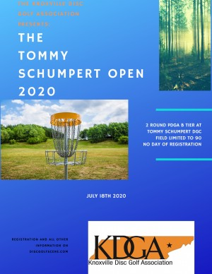 The 2020 Tommy Schumpert Open graphic