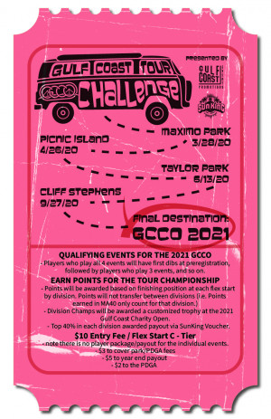 Gulf Coast Tour Challenge - Stop 1 (Maximo Park) Presented by Athletic House graphic