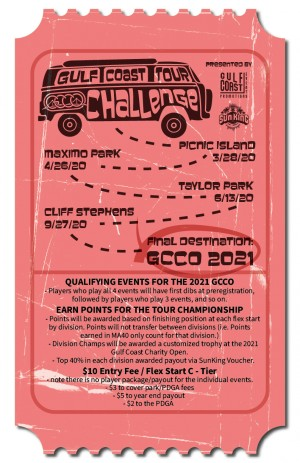 Gulf Coast Tour Challenge - Stop 4 (Cliff Stephens) Presented by Latitude 64 graphic