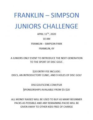 F-S Juniors Challenge graphic
