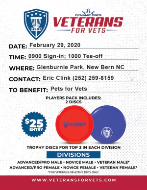 Veterans for Vets New Bern graphic