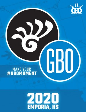 2020 Glass Blown Open Spectator Badge graphic