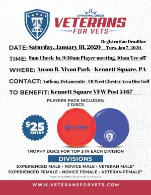 Veterans for Vets Tournament - Anson B. Nixon Park graphic