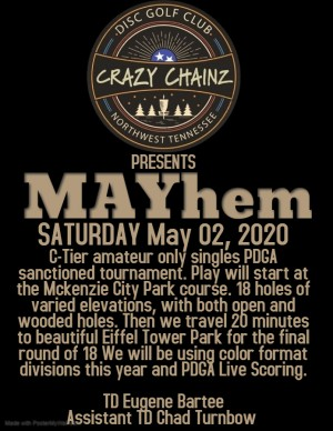 CRAZY CHAINZ of NWTN Presents MAYhem graphic